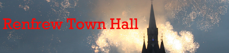 Town Hall Banner